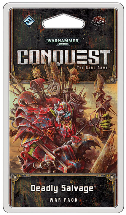 Warhammer 40k Conquest Lcg: Deadly Salvage War Pack Box Front