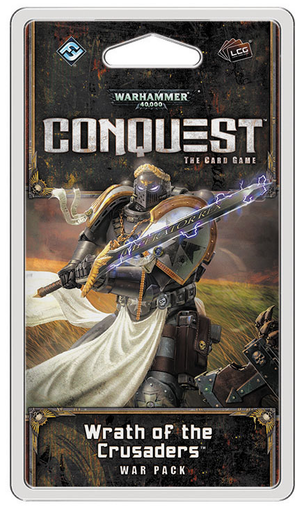 Warhammer 40k Conquest Lcg: Wrath Of The Crusaders War Pack Box Front