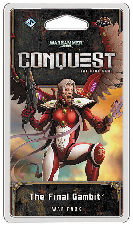 Warhammer 40k Conquest Lcg: The Final Gambit War Pack Box Front