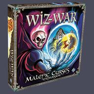 Wiz-war: Malefic Curses Expansion Box Front