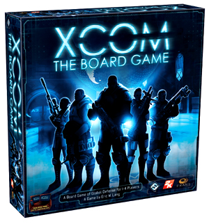 Xcom: The Board Game Box Front