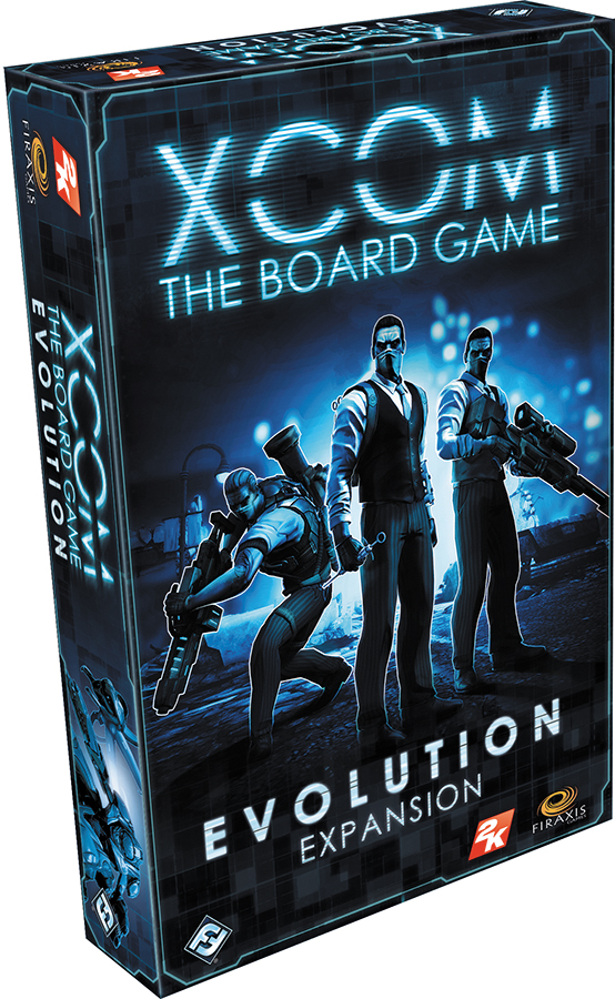 Xcom: The Board Game - Evolution Expansion Box Front