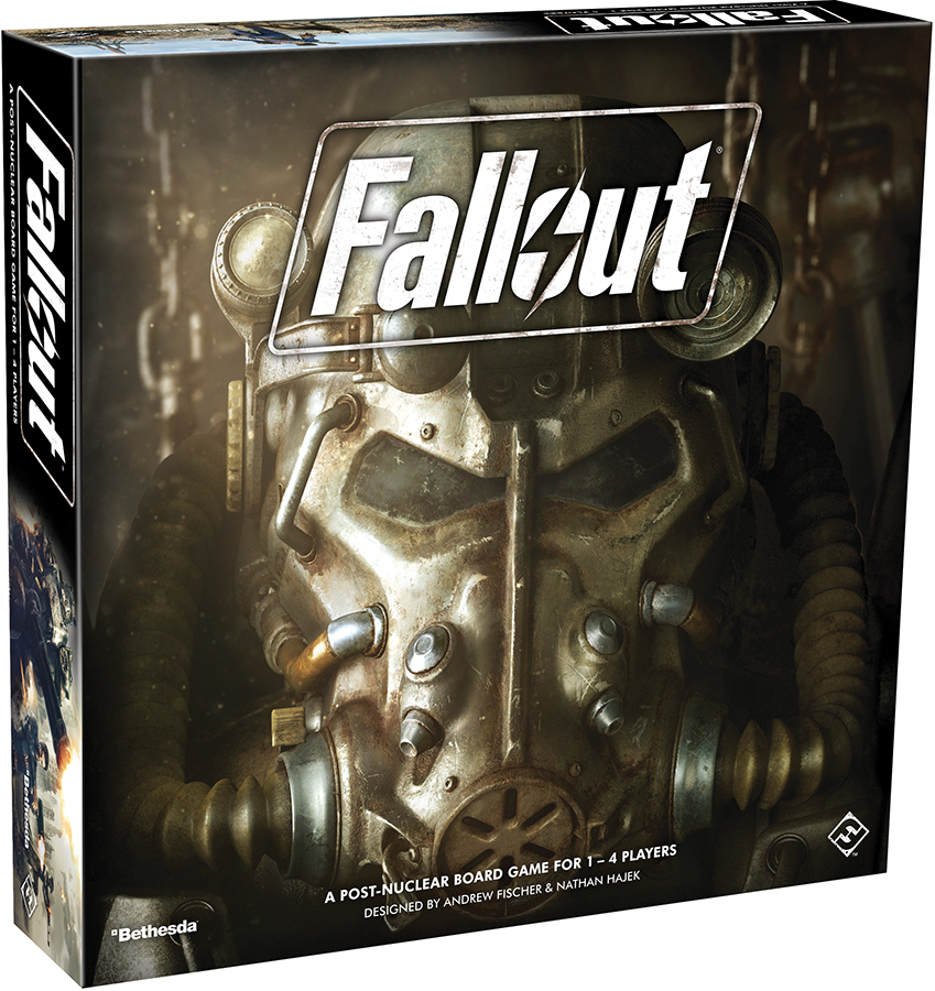 Fallout: The Board Game Box Front