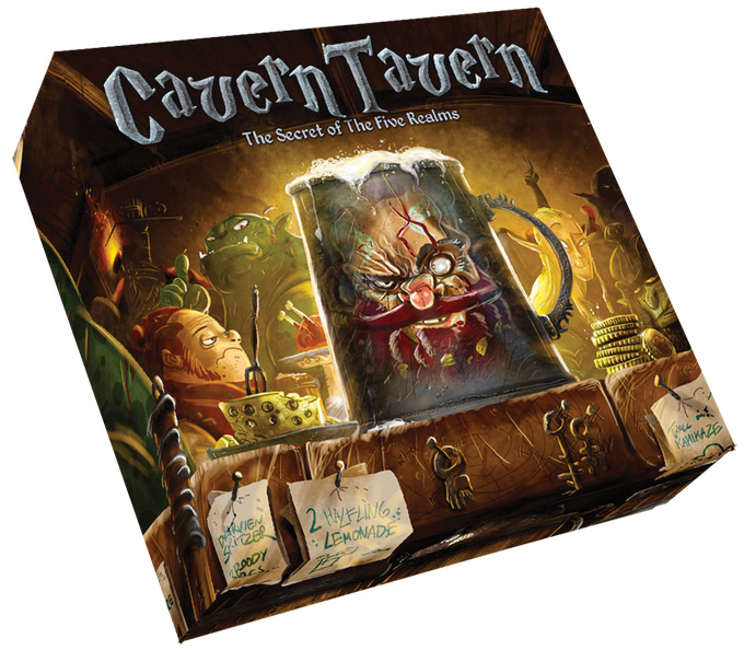 Cavern Tavern Board Game Box Front