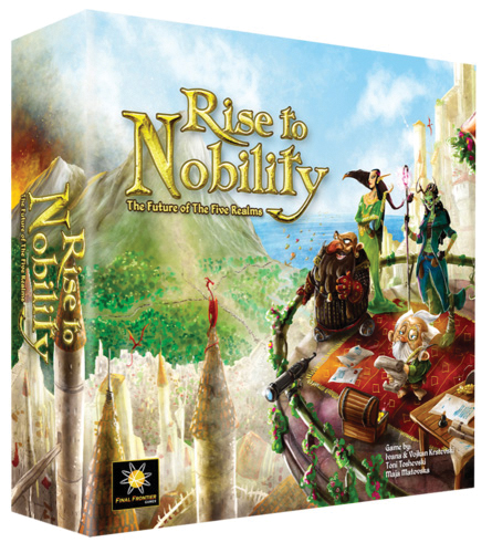 Rise To Nobility Board Game Box Front
