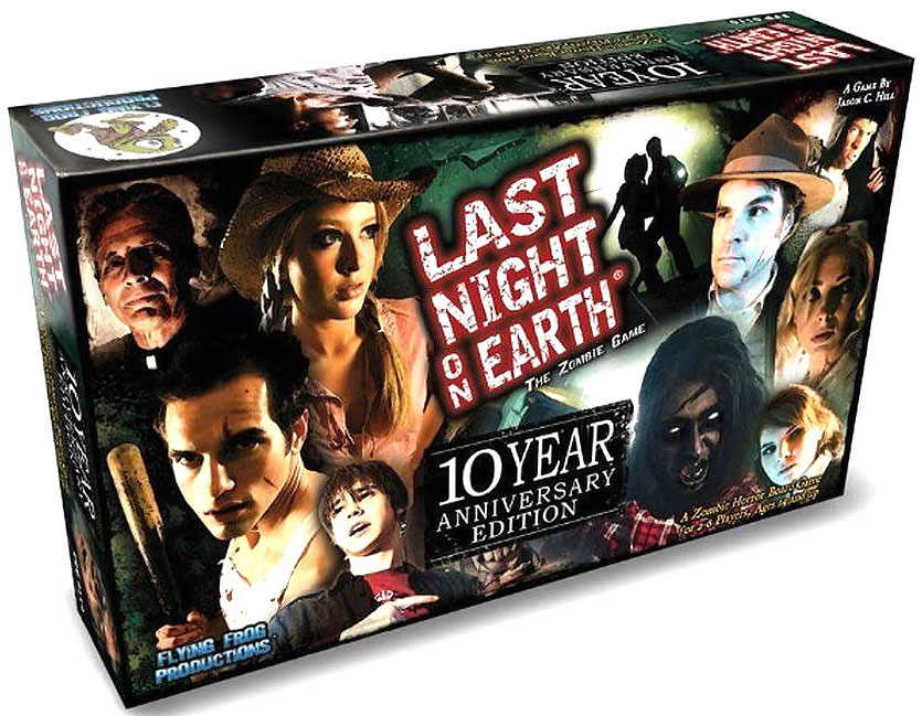 Last Night On Earth: 10th Anniversary Edition Box Front