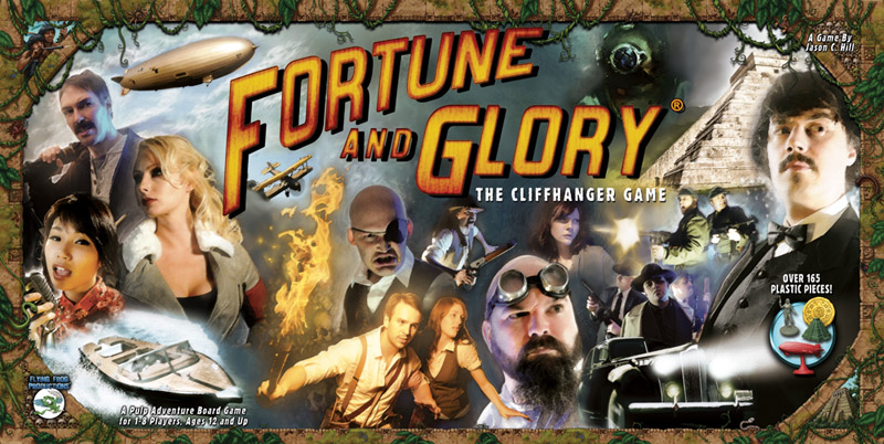 Fortune And Glory: The Cliffhanger Game Box Front
