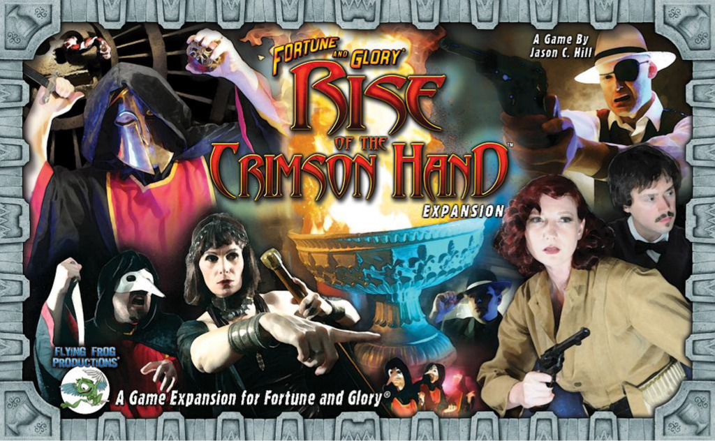 Fortune And Glory: Rise Of The Crimson Hand Box Front