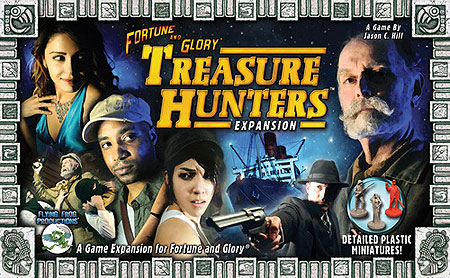 Fortune And Glory: Treasure Hunters Box Front