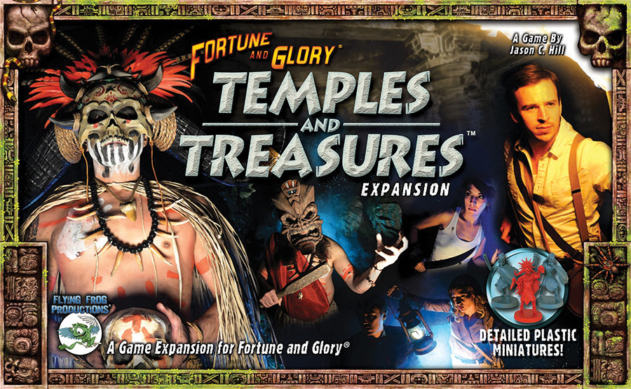 Fortune And Glory: Temples And Treasures Game Box