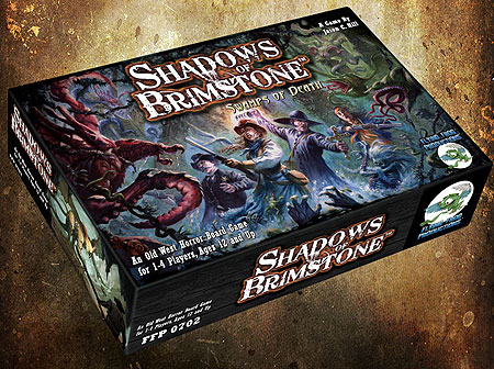 Shadows Of Brimstone: Swamps Of Death Box Front