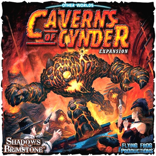 Shadows Of Brimstone: Caverns Of Cynder Expansion Box Front