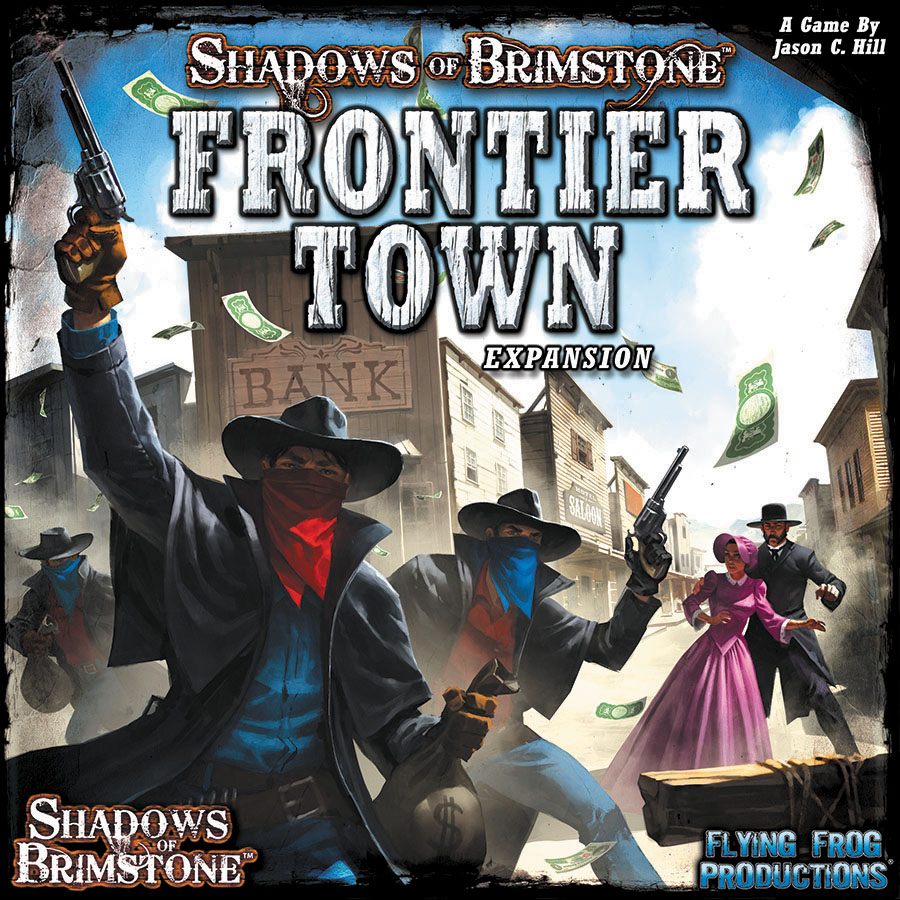 Shadows Of Brimstone: Frontier Town Expansion Box Front