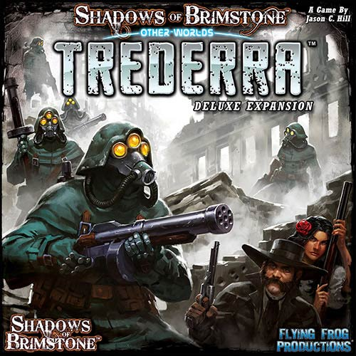 Shadows Of Brimstone: Trederra Deluxe Otherworld Expansion Box Front