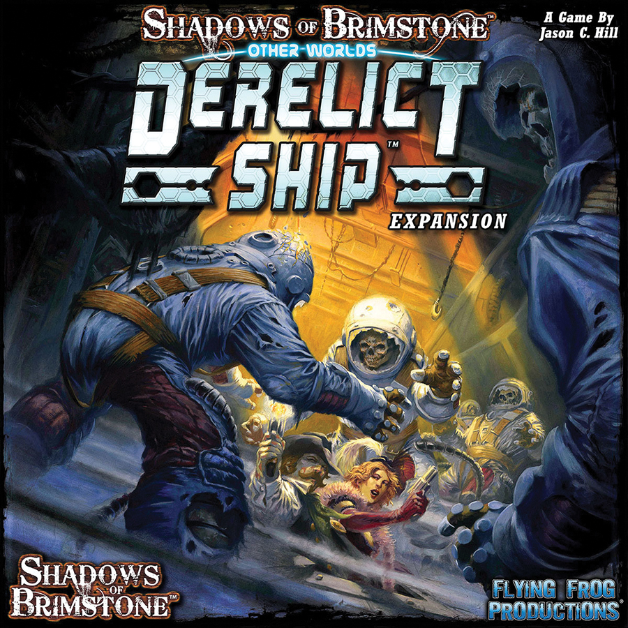Shadows Of Brimstone: Derelict Ship Other World Expansion Box Front