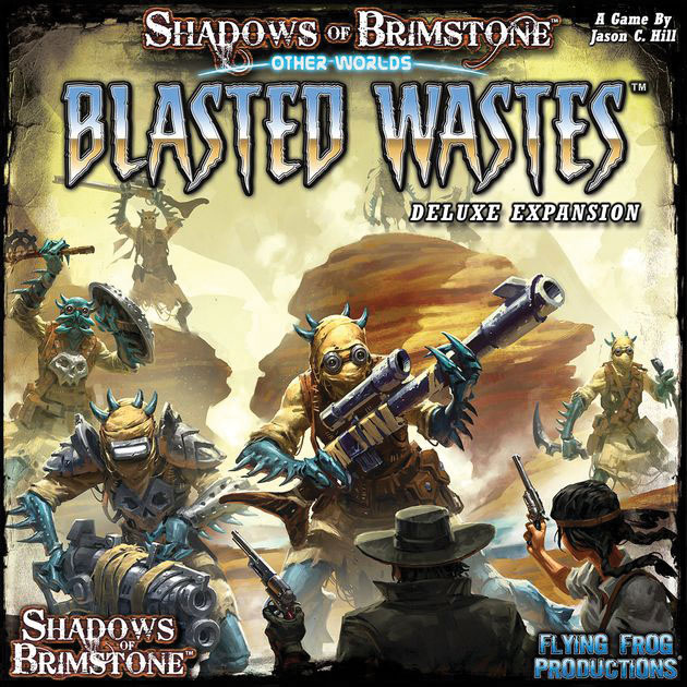 Shadows Of Brimstone: Blasted Wastes Deluxe Otherworld Box Front