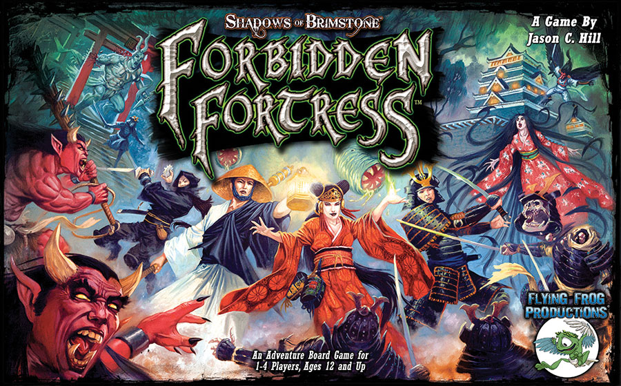 Shadows Of Brimstone: Forbidden Fortress Core Set Game Box