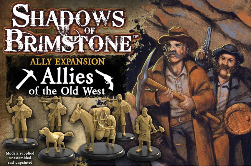 Shadows Of Brimstone: Old West Allies Box Front