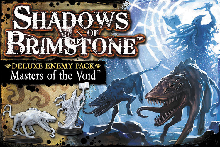 Shadows Of Brimstone: Masters Of The Void Deluxe Enemy Pack Box Front