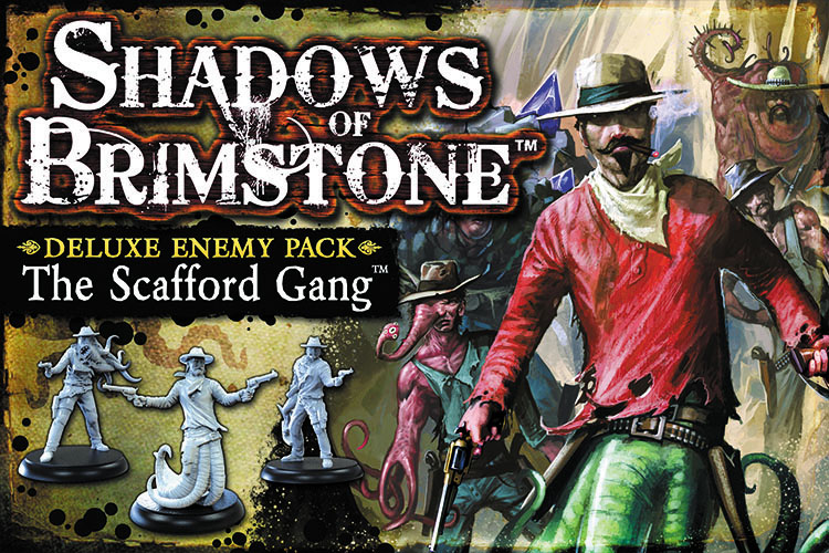 Shadows Of Brimstone: The Scafford Gang Deluxe Enemy Pack Box Front