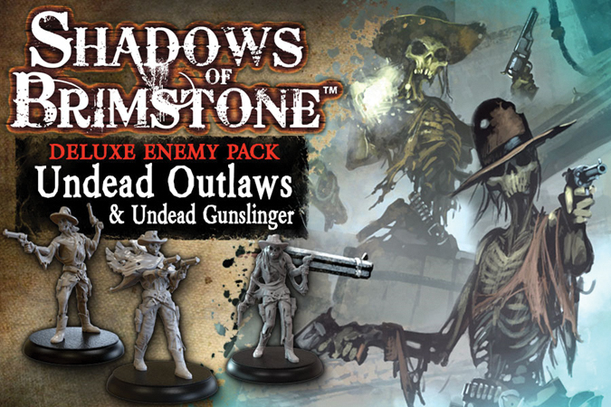 Shadows Of Brimstone: Undead Outlaws Deluxe Enemy Pack Box Front