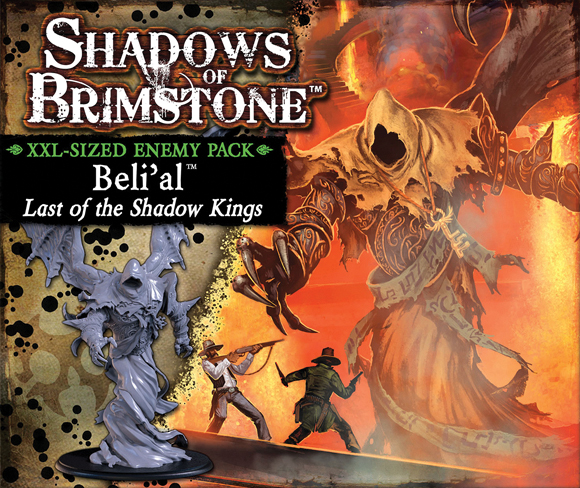 Shadows Of Brimstone: Beli`al Xxl Sized Deluxe Enemy Pack Box Front