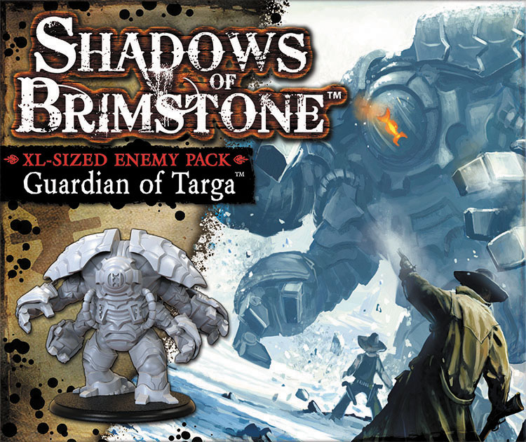 Shadows Of Brimstone: Guardian Of Targa Xl Enemy Pack Box Front