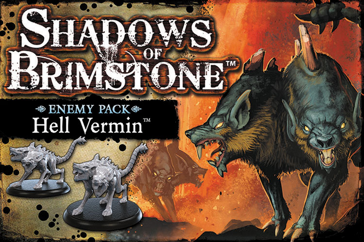 Shadows Of Brimstone: Hell Vermin Enemy Pack Box Front