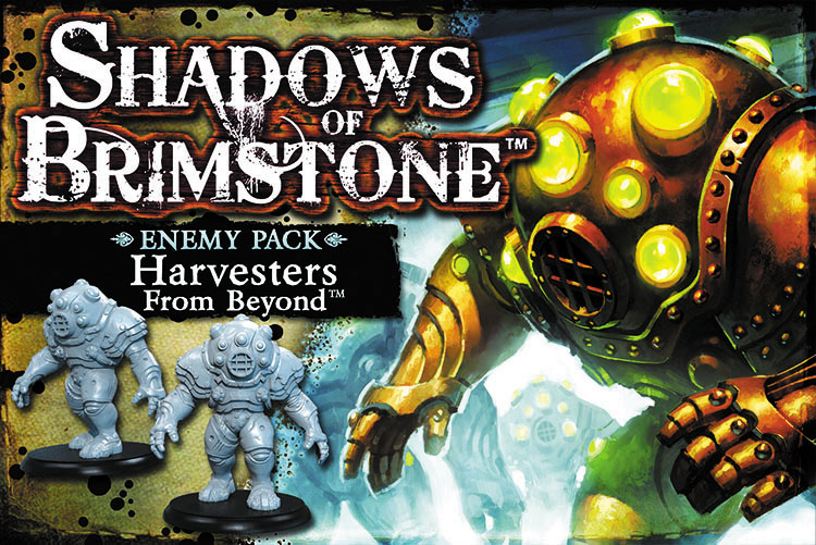 Shadows Of Brimstone: Harvesters Enemy Pack Box Front