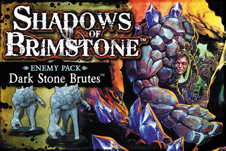 Shadows Of Brimstone: Dark Stone Brutes Enemy Pack Box Front