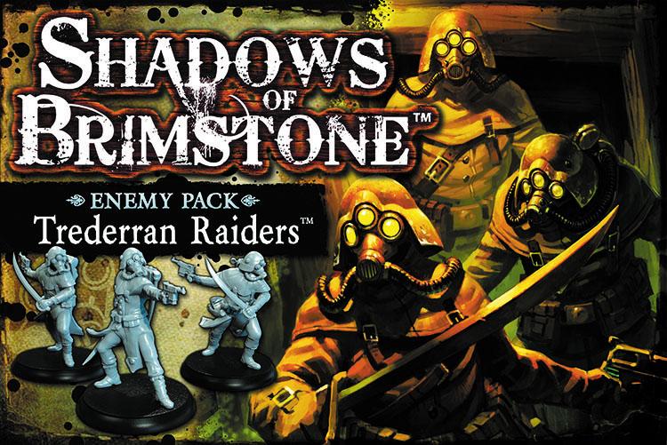 Shadows Of Brimstone: Trederran Raiders Enemy Pack Box Front