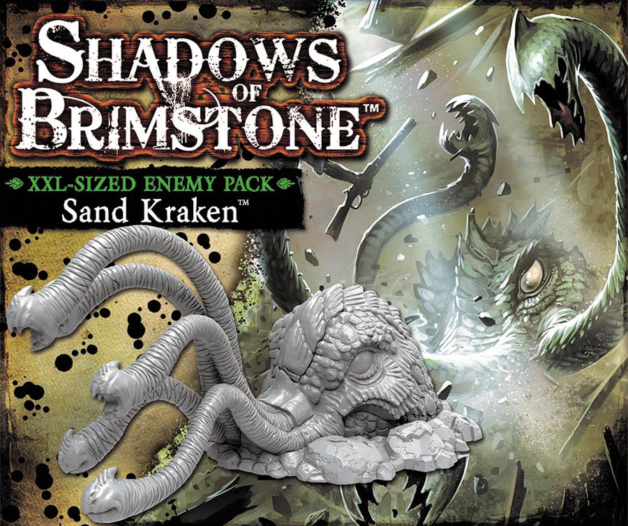 Shadows Of Brimstone: Sand Kraken Xxl Sized Enemy Pack Box Front