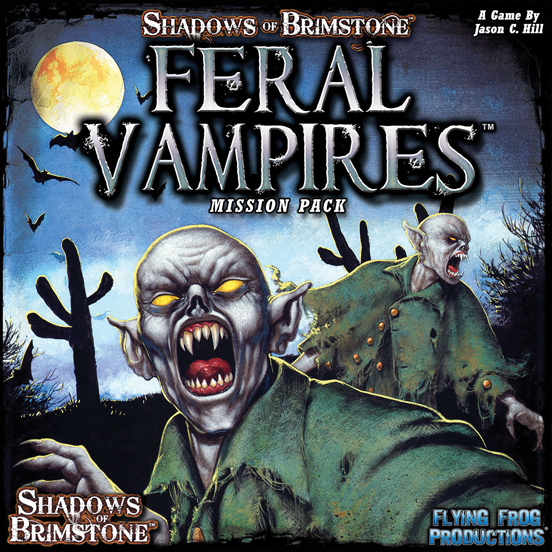 Shadows Of Brimstone: Feral Vampires Mission Pack Box Front