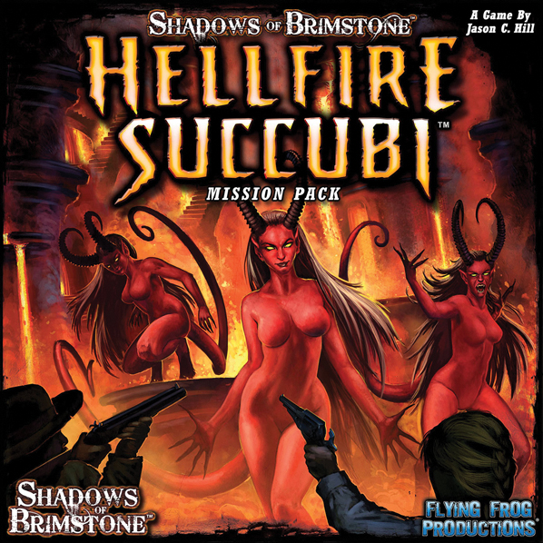 Shadows Of Brimstone: Hellfire Succubi Mission Pack Box Front