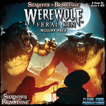Shadows Of Brimstone: Werewolves Mission Pack Box Front