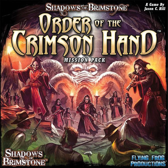 Shadows Of Brimstone: Order Of The Crimson Hand Box Front