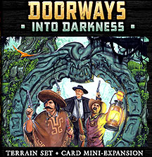 Shadows Of Brimstone: Doorways Into Darkness Expansion Box Front