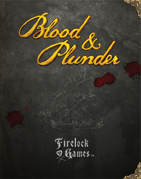 Blood & Plunder Rulebook Box Front