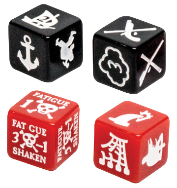 Blood & Plunder: Marker Dice Set Box Front
