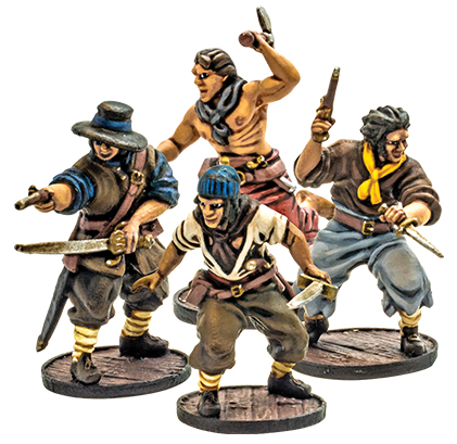 Blood & Plunder: English Sea Dogs Unit Box Front