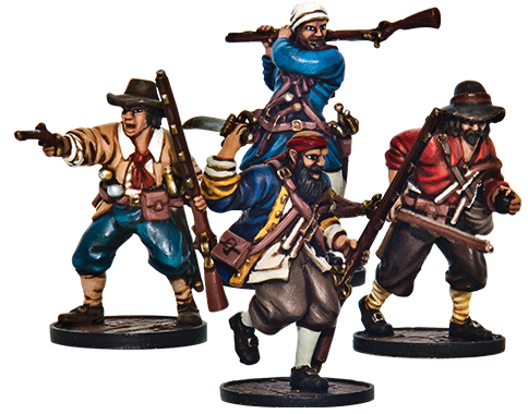 Blood & Plunder: English Forlorn Hope Unit (buccaneer Storming Party) Box Front