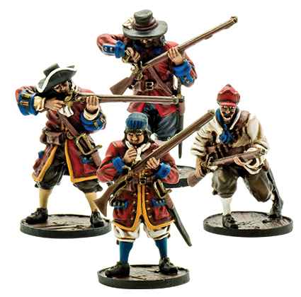 Blood & Plunder: English English Militia Unit Box Front