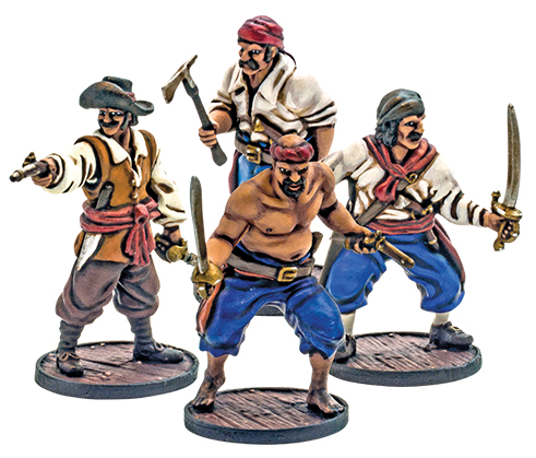 Blood & Plunder: Spanish Marineros Unit Box Front