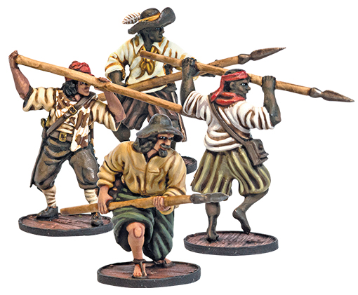 Blood & Plunder: Spanish Lanceros Unit Box Front
