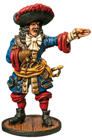 Blood & Plunder: French French Buccaneer Commander Box Front
