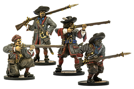 Blood & Plunder: French Milice Des Carabes Unit Box Front