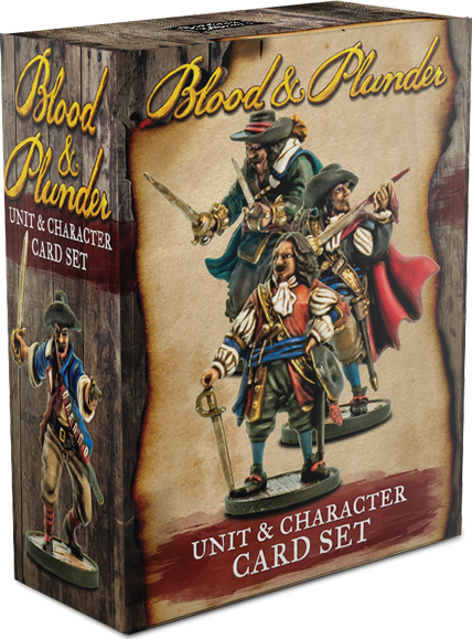 Blood & Plunder: Unit & Character Card Set Box Front