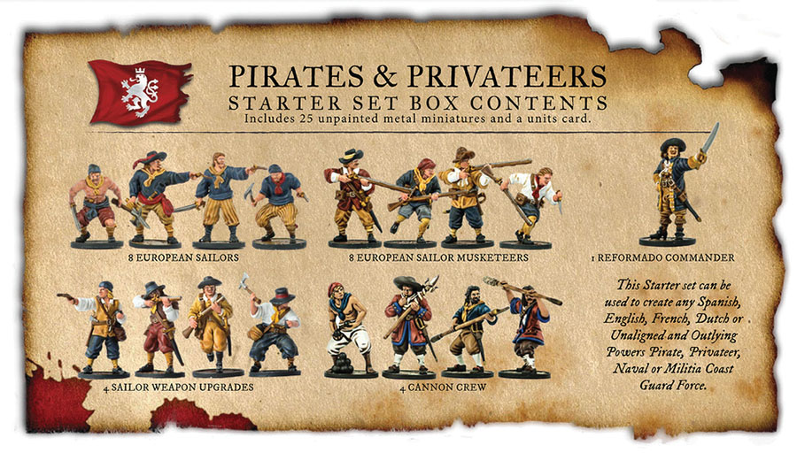 Blood & Plunder: European Pirates Aned Privateers Nationality Set Box Front