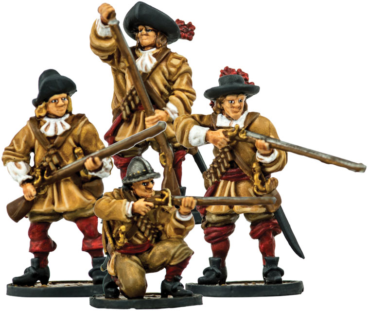 Blood & Plunder: Dutch Militie Unit Box Front