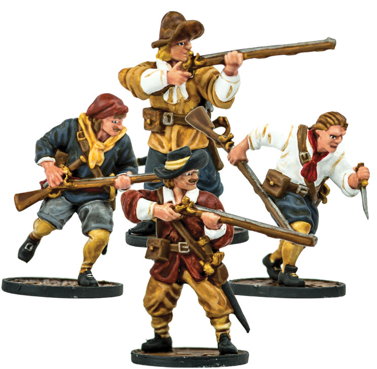 Blood & Plunder: European Sailor Musketeers Unit Box Front
